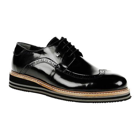 Wingtip Dress Shoe // Black