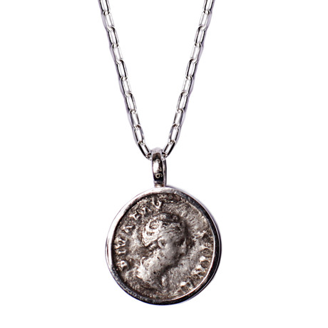 Faustina Silver Necklace
