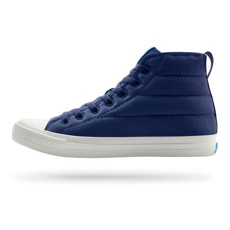 Phillips Puffy Sneaker // Paddington Blue + Picket White