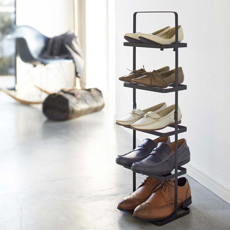 Tower Shoe Rack White