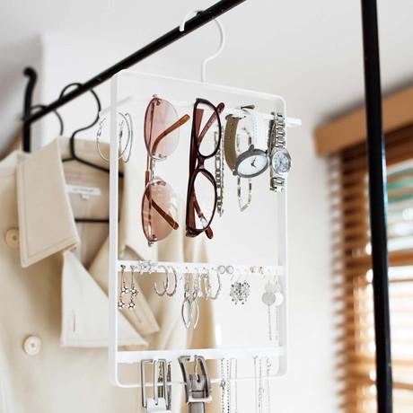 Tower // Accessory + Glasses Hanger (White)