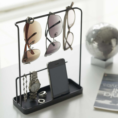 Tower // Accessory + Glasses Stand (White)