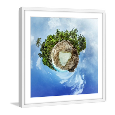 Jungle Earth // White Frame