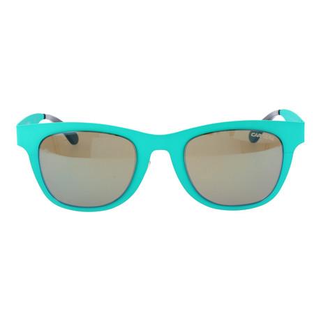 Flat Thick Rim Wayfarer // Turquoise