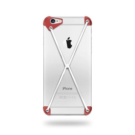 Mod-3 Radius // Red + Polished // iPhone 6/6s Plus