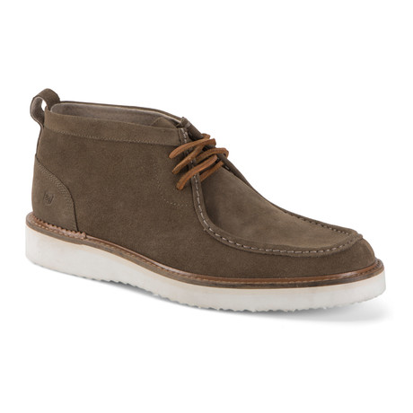 Haven Suede Chukka // Caribou + White + Dark Cymbal