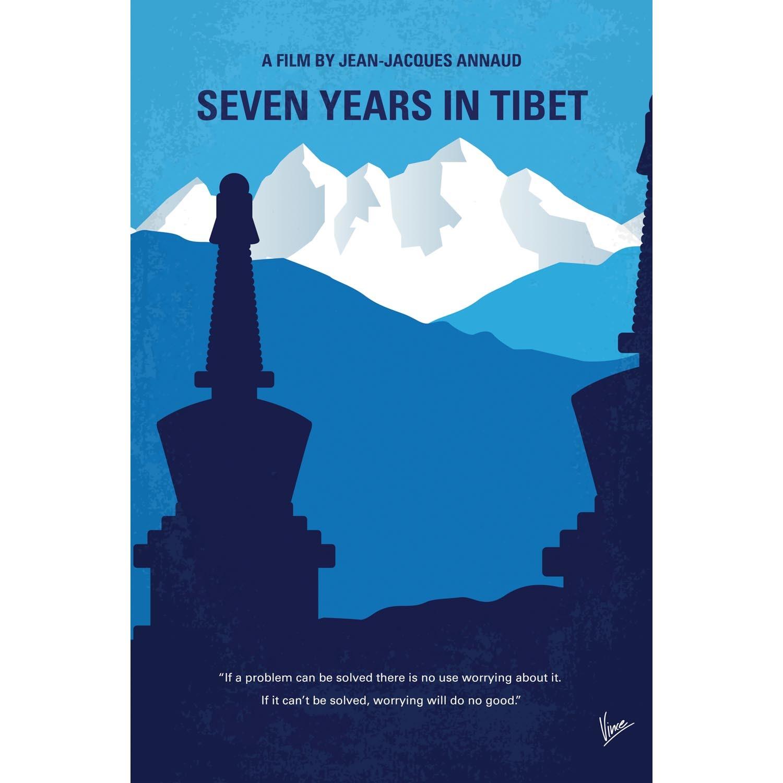 "Seven Years In Tibet (26""W x 18""H x .75""D) - Chung Kong ..."