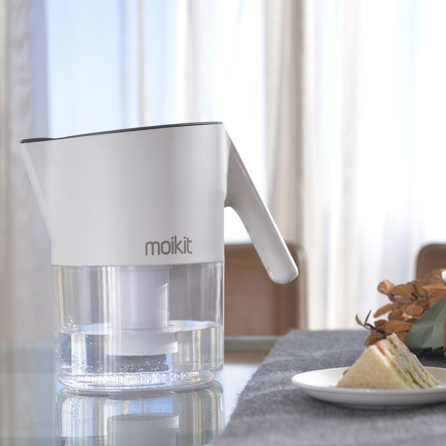 Tita Smart Water Pitcher Moikit Touch Of Modern