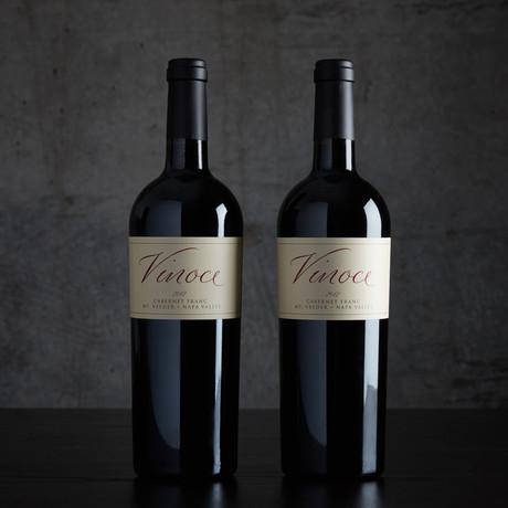 2012 Vinoce Napa Valley Cabernet Franc // 2 Bottles