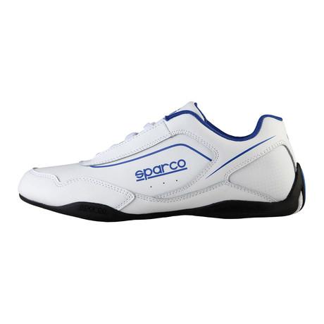 Jerez Sneaker // White + Blue