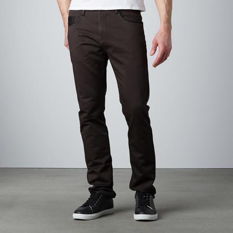 Lightweight Straight Leg Pant // Charcoal