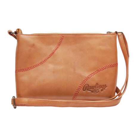 Baseball Stitch Crossbody // Tan