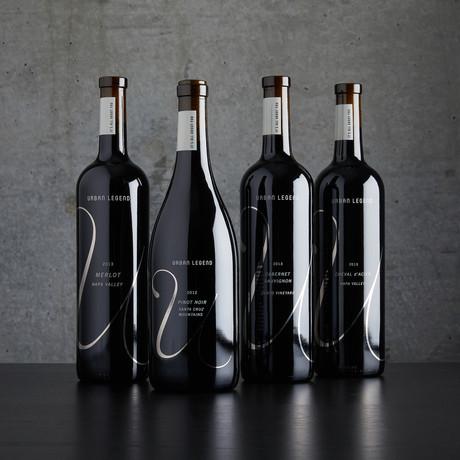 Urban Legend Cellars Mixed Reds // 4 Bottles