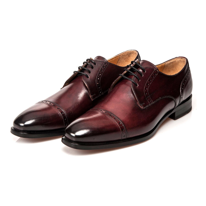 Caravaggio Dress Shoe Bordeaux Uk 7