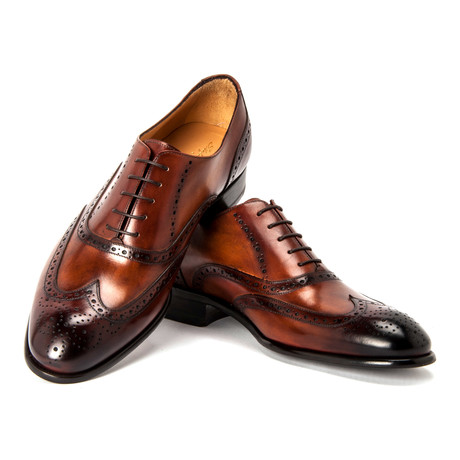 Giotto Dress Shoe // Brown (UK: 6)