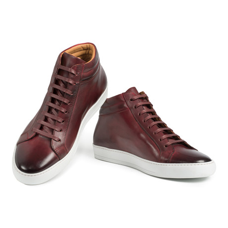 Monet Sneaker // Red (UK: 6)