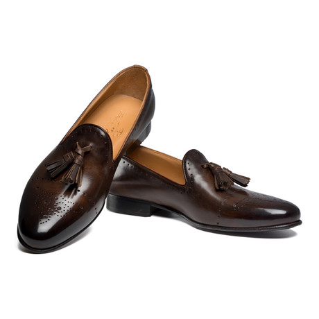 Ballaro Tassel Loafer // Dark Brown (UK: 6)