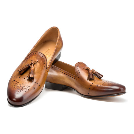 Ballaro Tassel Loafer // Brown (UK: 6)