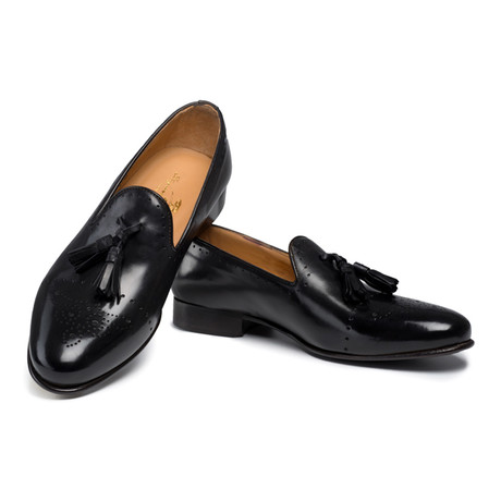 Ballaro Tassel Loafer // Black (UK: 6)