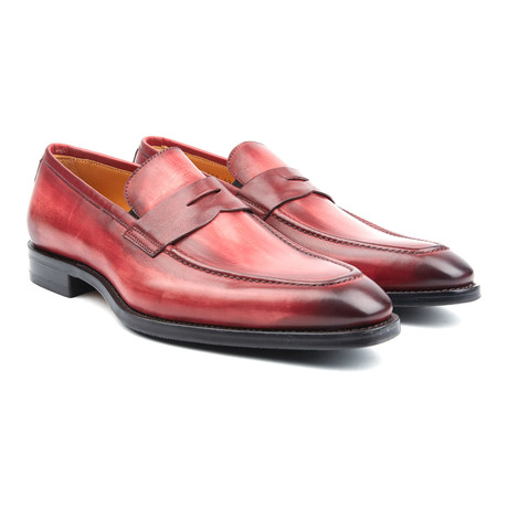 Amberes Penny Loafer // Red