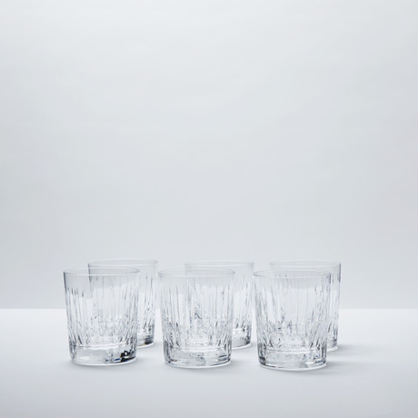 Crystal Whiskey Glasses // Set of 6