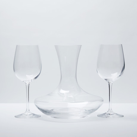 Olivia Wine Carafe + Wine Glasses // Set of 2