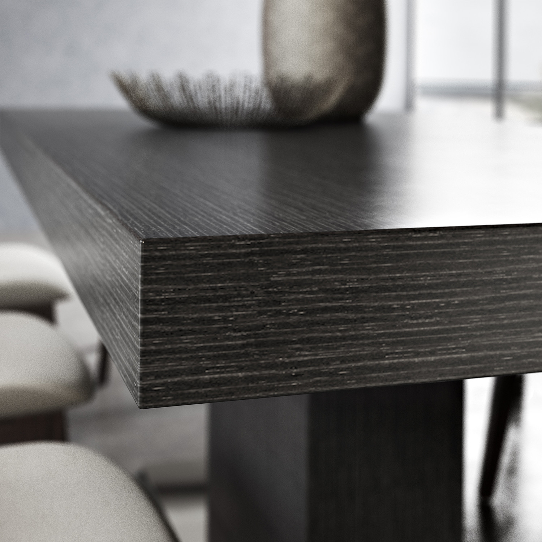 Astor Dining Table Wenge Modloft Living Touch Of Modern