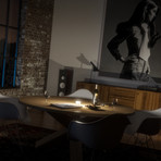 enevu Cube Light // Matte Black