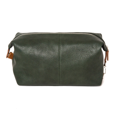Alpha Leather Toiletry Bag