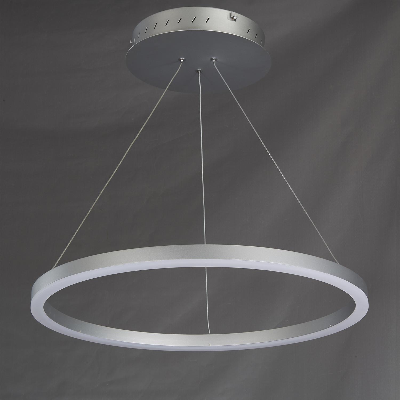 Tania Circular Chandelier Silver VONN Touch of Modern