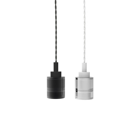 Swag Pendant Light (Black Chrome)