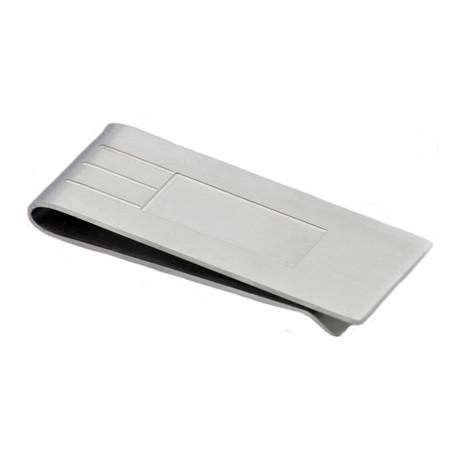 Money Clip // Brushed Steel