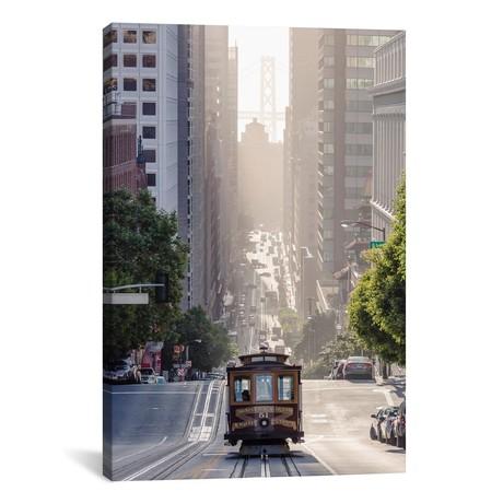 """Cable Car, San Francisco, California (18""""W x 26""""H x 0.75""""D)"""