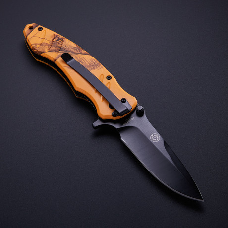 Realtree Renegade Tech Folder // Blaze Orange