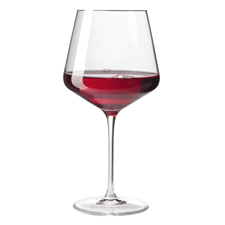 Puccini Burgundy Glasses 730 Ml Set Of 6 Leonardo