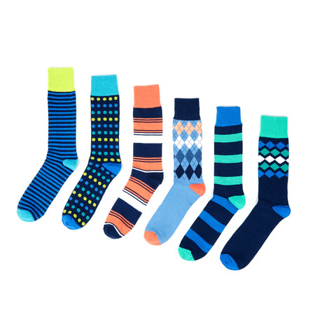 Casual Socks // Westminster // Set of 6