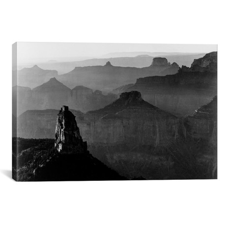 "Grand Canyon National Park III // Ansel Adams (26""W x 18""H x 0.75""D)"