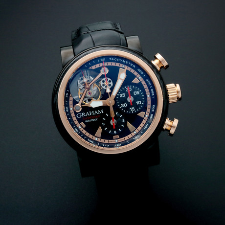 Graham Silverstone Tourbillon Woodcote Automatic // Limited Edition // 2TWAO.B01A // Pre-Owned