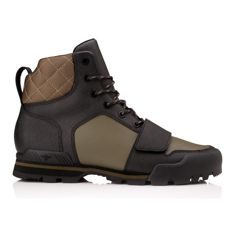 Scotto High-Top Boot // Black + Military