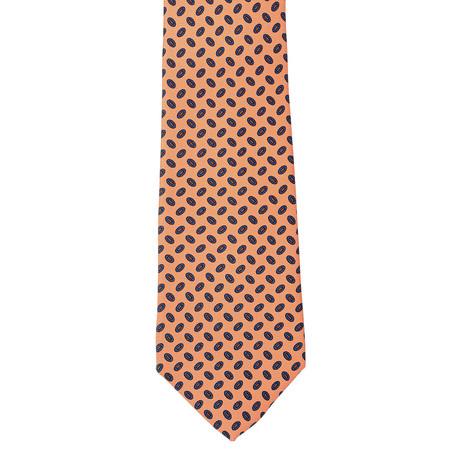 E. Marinella // Silk Tie // Orange Oval