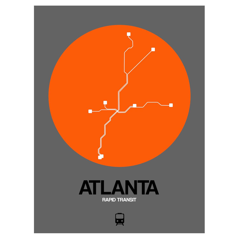 Atlanta Subway Map Black Subway City Maps Touch Of Modern