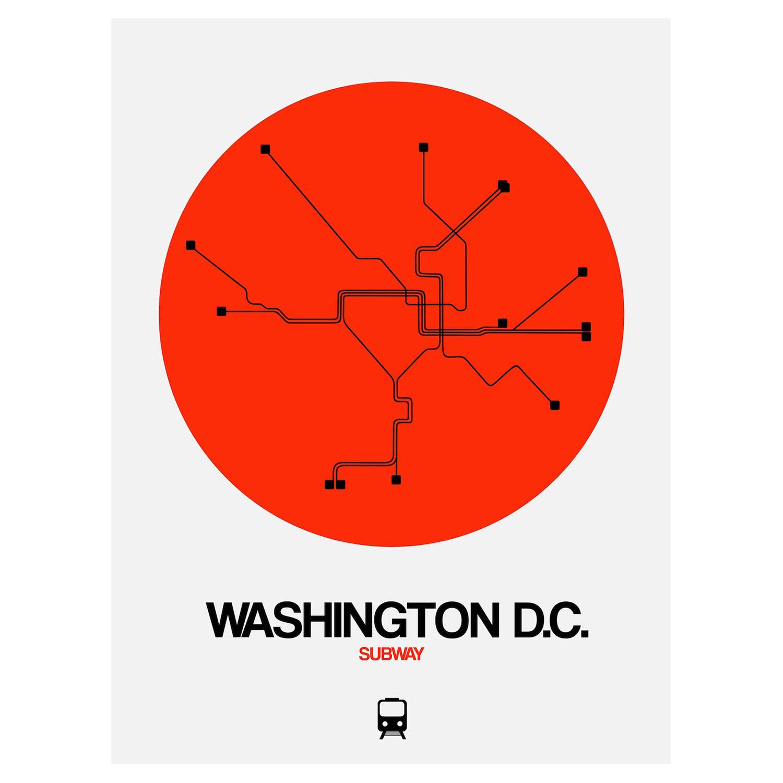 D Subway Map.Washington D C Subway Map Orange Subway City Maps Touch Of Modern