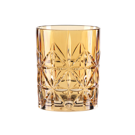 Highland Tumbler Amber // Set of 4