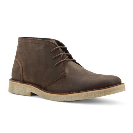 Saxon Desert Boot // Dark Brown + Honey