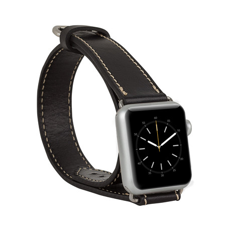 Double Tour Genuine Leather Band // Apple Watch 42mm