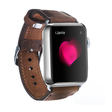 Classic Soft Leather Apple Watch Band // 38mm