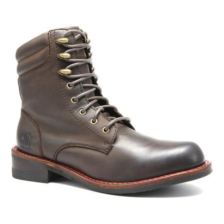 Jesse Alpine Boot // Dark Brown