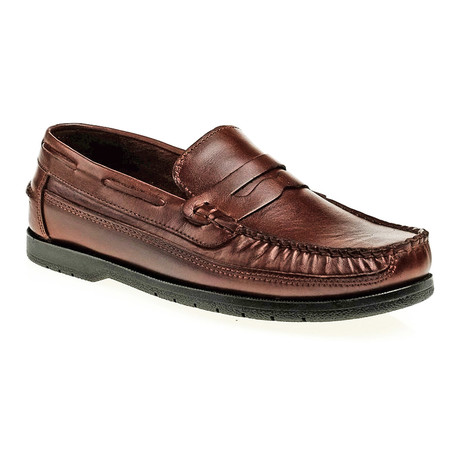 Penny Loafer // Brown