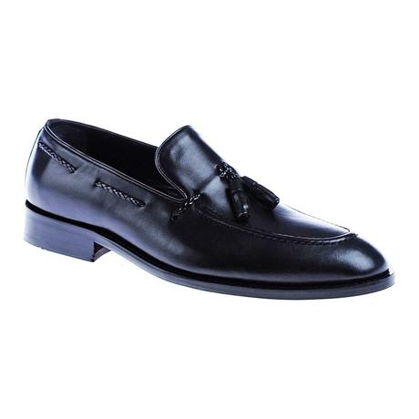 Tassel Loafer // Black