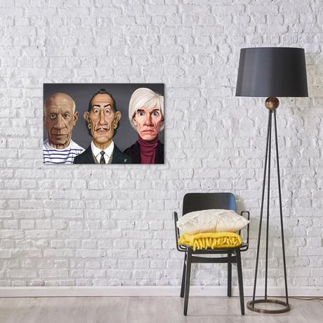 Great Artists (Dali, Picasso, Warhol)
